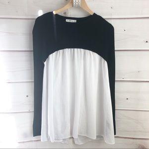 Zara knit top